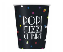 Neon Dots New Years Eve Paper Cups (8)